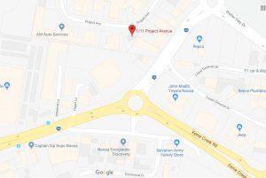 scg google map location